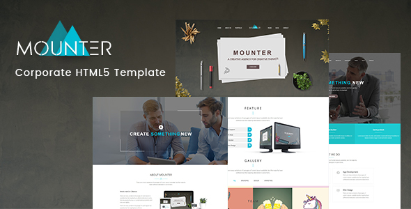 Download Mounter – Corporate HTML Template