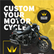 Motorcycle Custom Garage Flyer