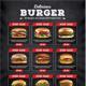 Fast Food Menu - GraphicRiver Item for Sale