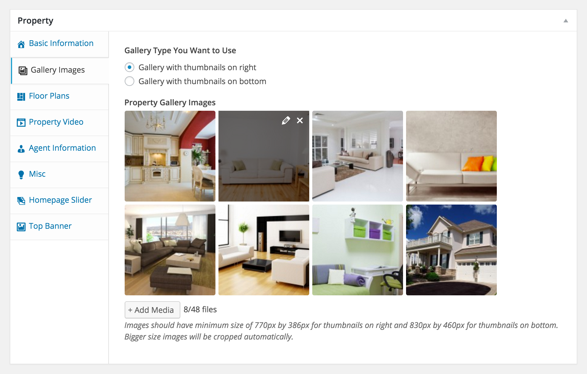 Real Homes - WordPress Real Estate Theme by InspiryThemes ...