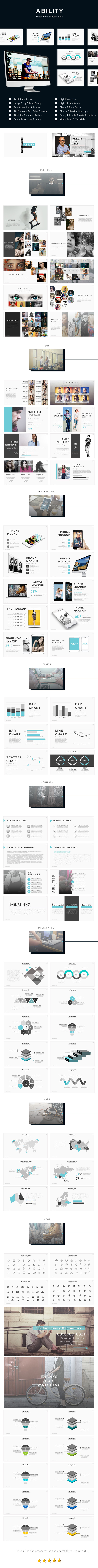 Ability Power Point Presentation Template - Business PowerPoint Templates