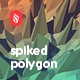 Spiked Polygon Backgrounds - GraphicRiver Item for Sale