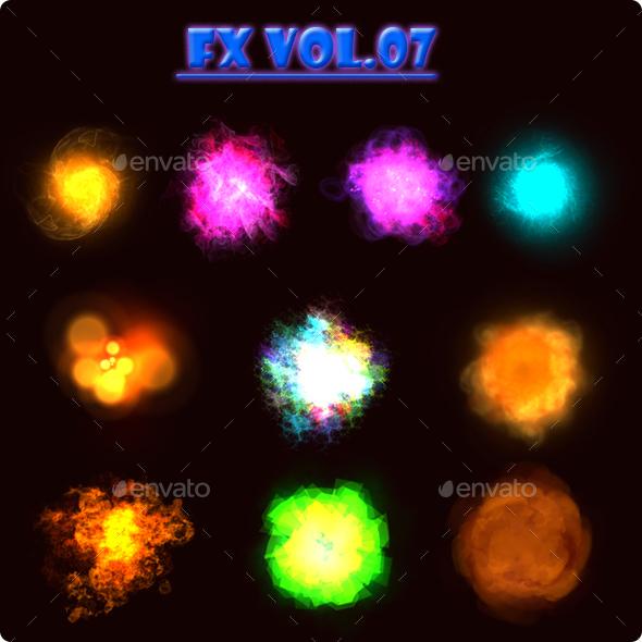 FX Vol. 07 - Sprites Game Assets
