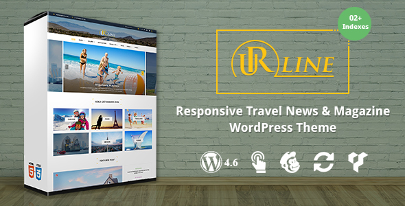 Urline - Creative WordPress Travel News And Magazine Theme - News / Editorial Blog / Magazine