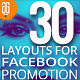 30 Duotone Facebook Promotion Banners - GraphicRiver Item for Sale