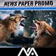 Newspaper Promo - VideoHive Item for Sale