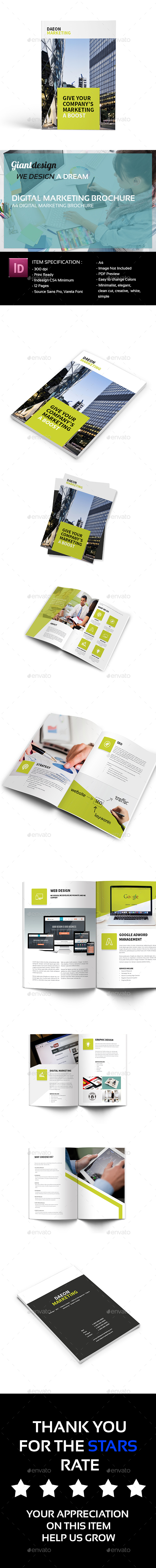 Digital Marketing Brochure - Corporate Brochures