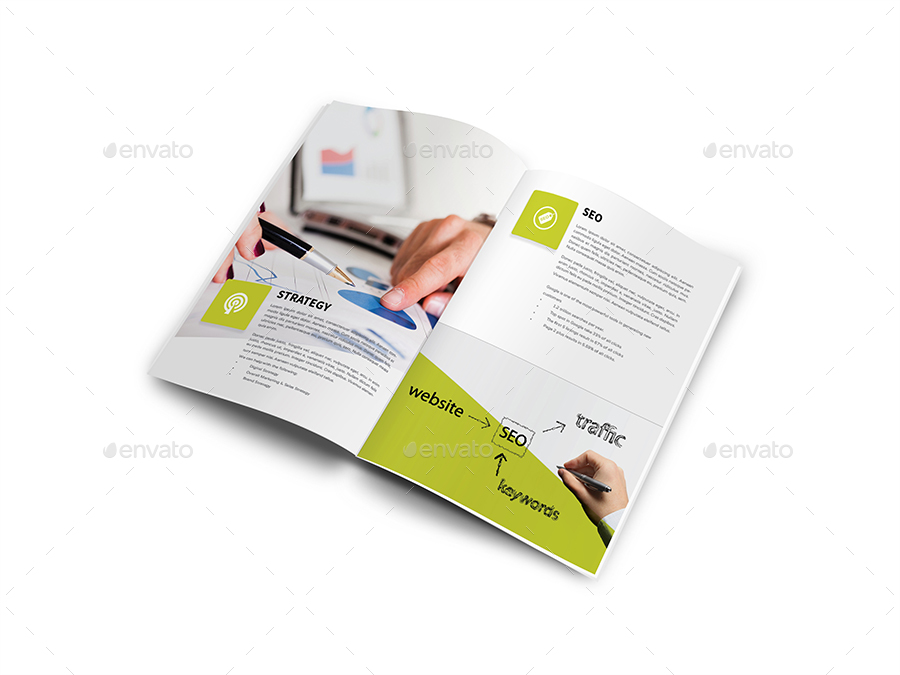 how to create digital marketing brochure