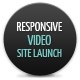 Responsive video site launch coming soon Nulled