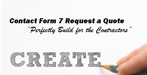 Contact Form 7 Request a Quote