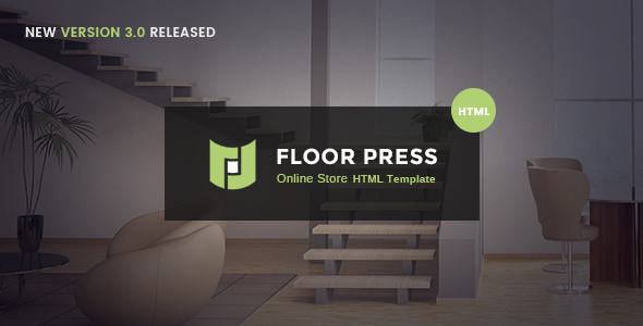 FloorPress - A Responsive Sales and Services HTML Template for Flooring or Other Businesses - Shopping Retail