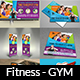 Fitness - GYM Advertising Bundle Vol.2 - GraphicRiver Item for Sale