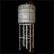 3D Water Tower - 7 Renders
