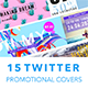 Twitter Covers Set - GraphicRiver Item for Sale