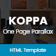 Koppa - Creative One Page Parallax Template - ThemeForest Item for Sale
