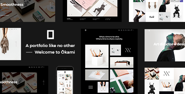 Okami - A Contemporary Portfolio Theme