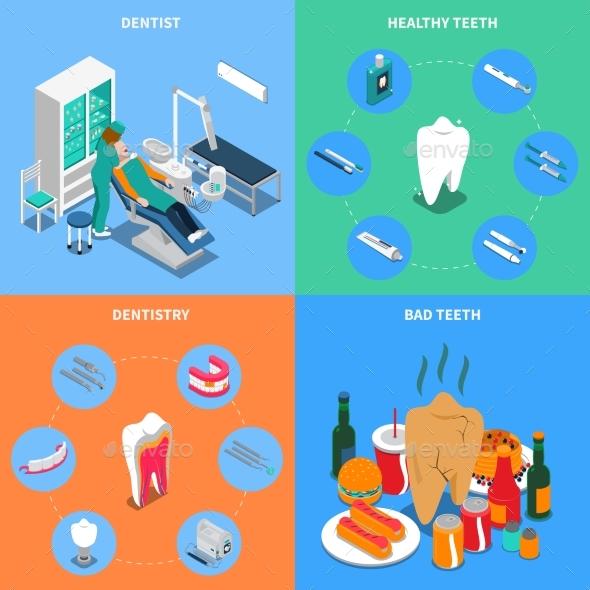 Dentistry 2X2 Design Concept - Health/Medicine Conceptual
