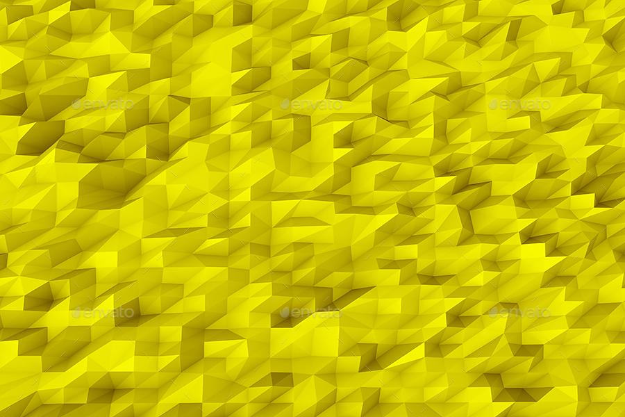 Polygonal Mosaic Backgrounds