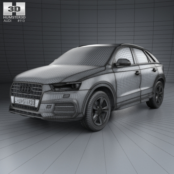 Audi Q3 2015 Price: Audi Q3 2015 By Humster3d