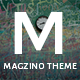 Magzino - Review, Blog and Magazine WordPress Theme Nulled