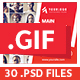 GIF Animated Banners - Exclusive Mega Pack - GraphicRiver Item for Sale