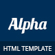 Alpha - Business Consulting and Financial Services HTML Template