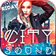 City Abstract Sound Party Flyer - GraphicRiver Item for Sale