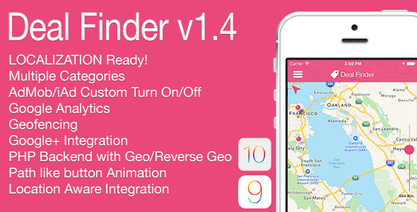 Download Source code              Deal Finder Full iOS Application v1.4 nulled version