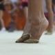 Legs of a Dancer in Pointe