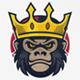 Gorilla King Logo - GraphicRiver Item for Sale