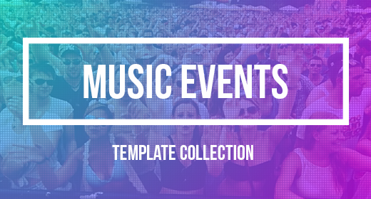 Music Event Templates