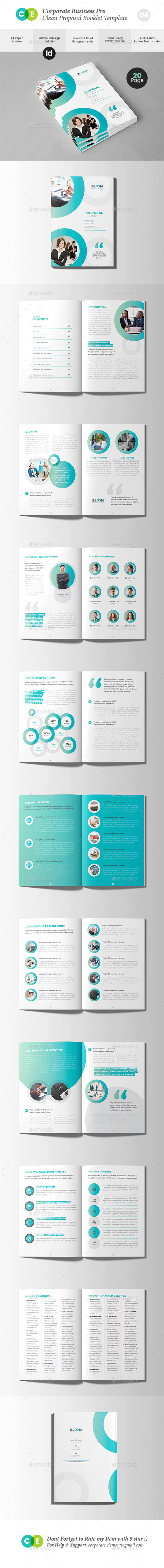 Creative Business Agency Proposal Document V04 - Proposals & Invoices Stationery