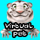 Virtual pet tiger template