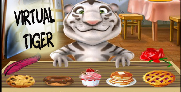 Download Virtual pet tiger template nulled version