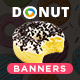 Donut Banners
