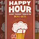 Happy Hour Flyer / Poster