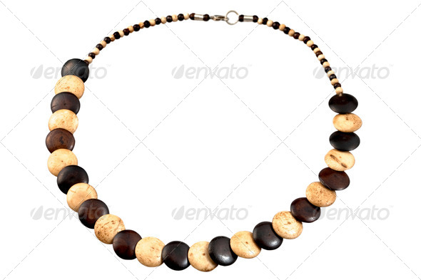 simple bone beads - Stock Photo - Images