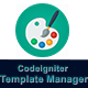 Codeigniter Template Manager