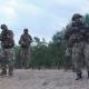 Military Troop Exploring Territory