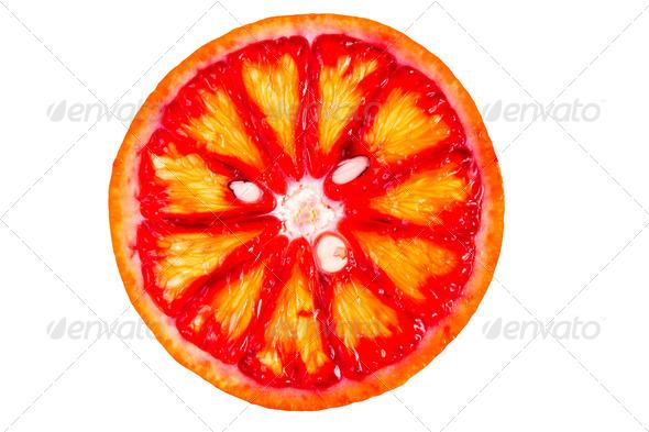 blood orange - Stock Photo - Images