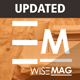 Wise Mag - The Wisest AD Optimized Magazine Blog WordPress Theme Nulled