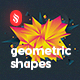 Abstract Geometric Shapes Backgrounds - GraphicRiver Item for Sale