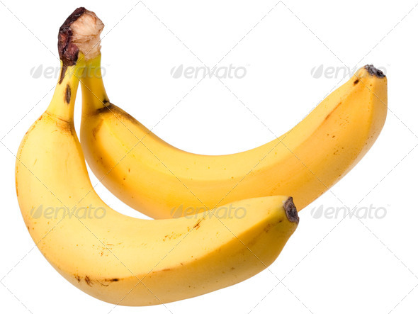 two bananas - Stock Photo - Images
