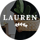 Lauren - Blog PSD Template