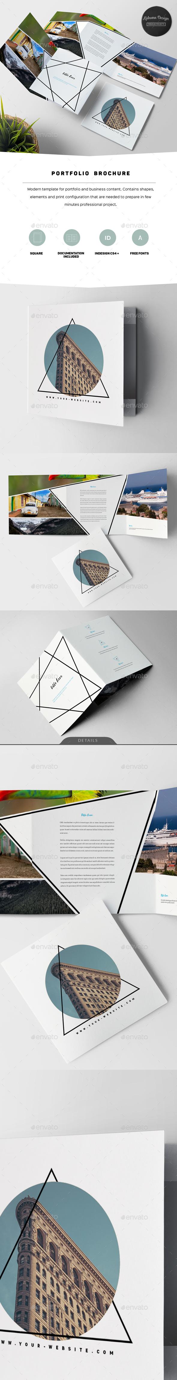 White Portfolio Brochure - Portfolio Brochures