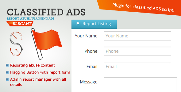 Classified ADS - Report Listing