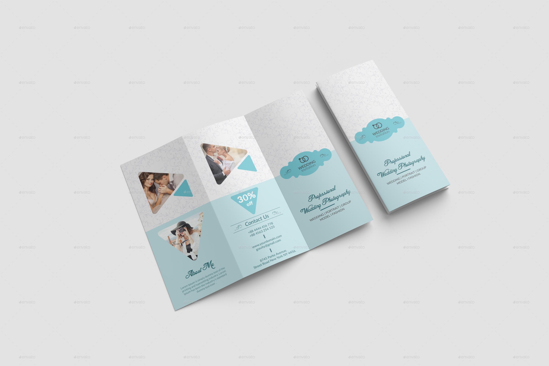 Wedding Brochure Template By Designhaunt Graphicriver