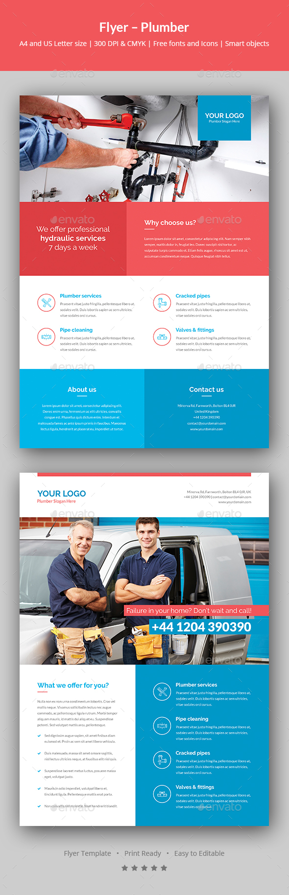 Flyer – Plumber - Corporate Flyers