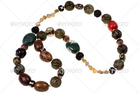 agate bead - Stock Photo - Images