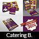 Catering Brochure Bundle Template - GraphicRiver Item for Sale
